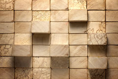 Wooden blocks vintage background Stock Photos