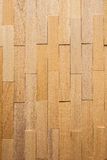 Wooden blocks on wood background.  Royalty Free Stock Photography