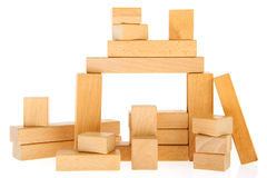 Wooden blocs Royalty Free Stock Image