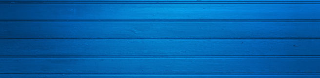Wooden blue background Royalty Free Stock Images