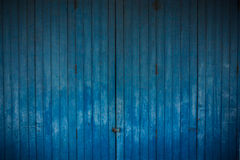 Wooden blue background Stock Photo