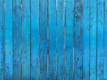 Wooden blue fence. Blue wood texture background coming from natural tree. Wooden panel with beautiful patterns. Space for work stock photos