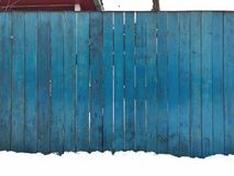 Wooden blue fence. Blue wood texture background coming from natural tree. Wooden panel with beautiful patterns. Space for work stock images