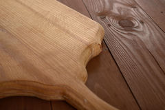 A wooden board as background Royalty Free Stock Photos
