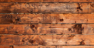 Wooden board background. Natural wood banner Stock Images