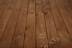 Wooden board for background or texture Stock Images