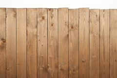 Wooden board for background or texture  on white Royalty Free Stock Photos