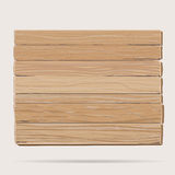 Wooden board cartoon Royalty Free Stock Images