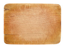Wooden board with copyspace Stock Image