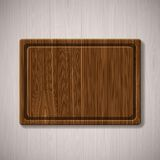 Wooden board for cutting food Royalty Free Stock Photography