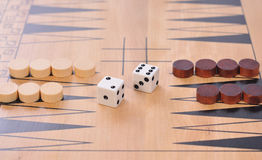 Wooden board game Stock Photography