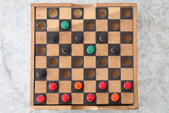 Wooden board game Royalty Free Stock Images