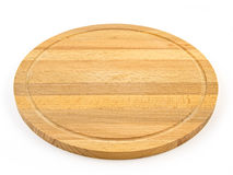 Wooden board isolated on white. Background. New stock image