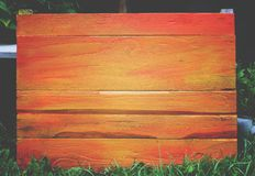 Wooden board outdoors. Natural wood background. Wooden board outdoors. Natural wooden background Royalty Free Stock Photos