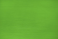 Wooden board painted green Stock Photo