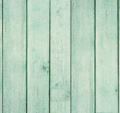 Wooden board painted light green. Royalty Free Stock Images