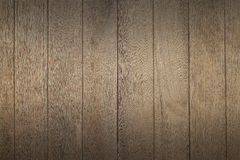 Wooden board with shadow for pattern and background Stock Photography