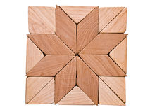 Wooden board square Royalty Free Stock Photo