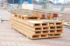 Wooden board for terrace Royalty Free Stock Image