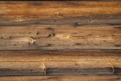 Wooden Boards. Closeup of horizontal wooden boards. Horizontal shot Royalty Free Stock Photo
