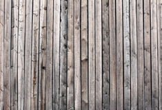 Wooden boards. Long being open-air Royalty Free Stock Photo