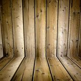 Wooden boards. 3-D detail of the texture of wood and grain in old boards or planks Stock Photo