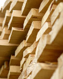 Wooden boards 2. Planed wooden boards for building Royalty Free Stock Images