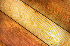 Wooden boards. Tree new wooden boards background Stock Image
