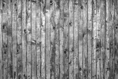 Wooden boards background in black and white Royalty Free Stock Image
