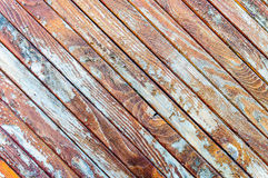 Wooden boards background lines pattern Royalty Free Stock Images
