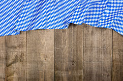 Wooden boards with bavarian diamond pattern Royalty Free Stock Photography
