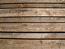 Wooden boards. Close up a wooden boards Royalty Free Stock Image