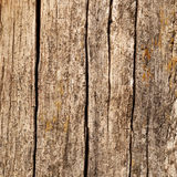 Wooden boards with cracks Royalty Free Stock Images