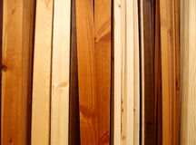 Wooden boards. Different shape and quality wooden boards Stock Image