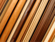 Wooden boards. Different shape and quality wooden boards, Italy Stock Photos