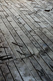 Wooden boards floor Stock Image