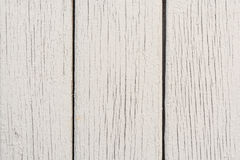 Wooden boards have a vertical arrangement, painted with gray paint, visible wood texture and small cracks Royalty Free Stock Photos