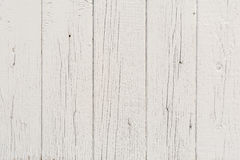 Wooden boards have a vertical arrangement, painted with gray paint, visible wood texture and small cracks Stock Image