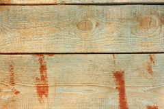 Wooden boards partly painted Stock Images