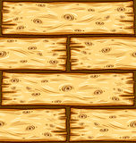 Wooden boards seamless pattern. Royalty Free Stock Photography