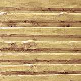 Wooden boards siding Royalty Free Stock Photo