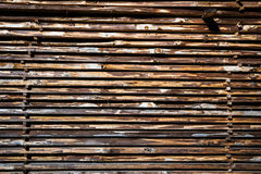 Wooden boards stack Royalty Free Stock Image