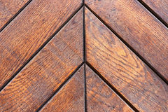 Wooden boards stacked diagonal Royalty Free Stock Photos