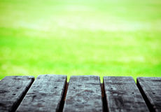 Wooden boards of table for background Royalty Free Stock Photo