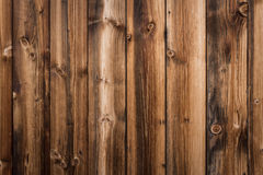 Wooden boards wall Stock Image