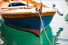 Wooden boat Royalty Free Stock Image