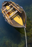 Wooden boat. Nice kept wooden boat Royalty Free Stock Images