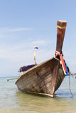 Wooden boat Royalty Free Stock Images