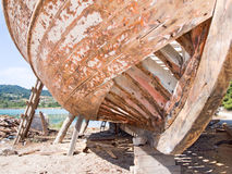 Wooden Boat Royalty Free Stock Photos