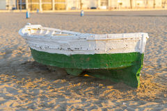 Wooden boat. Royalty Free Stock Image